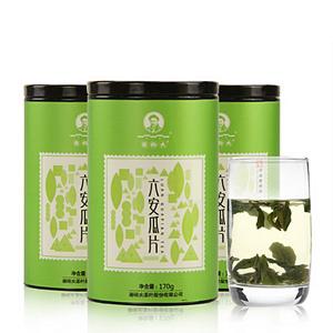 六安瓜片茶葉170g*3盒