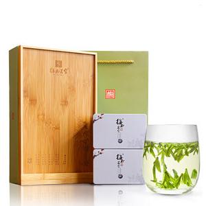 西湖龍井茶葉禮盒裝春茶250g